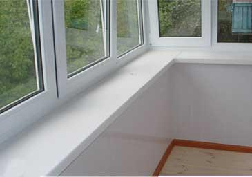 Балкон после утепления пенопластом